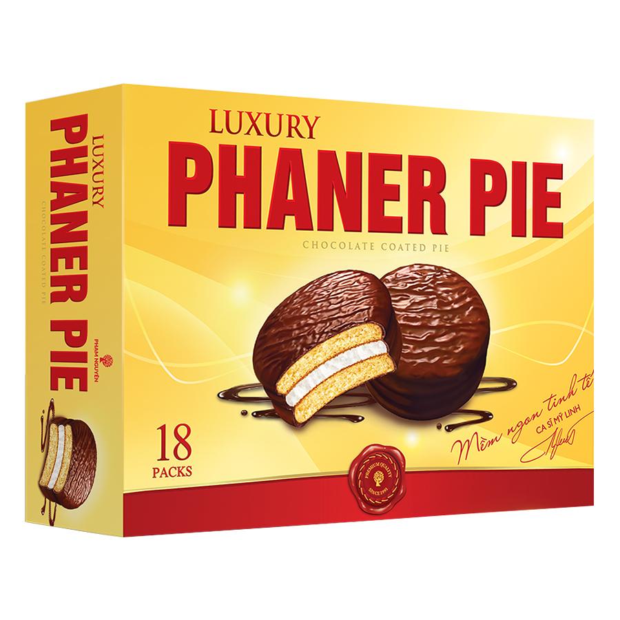 Hộp Bánh Phaner Pie  Cao Cấp 18 gói (504g) - 9432168 , 8935006356931 , 62_1098762 , 75000 , Hop-Banh-Phaner-Pie-Cao-Cap-18-goi-504g-62_1098762 , tiki.vn , Hộp Bánh Phaner Pie  Cao Cấp 18 gói (504g)