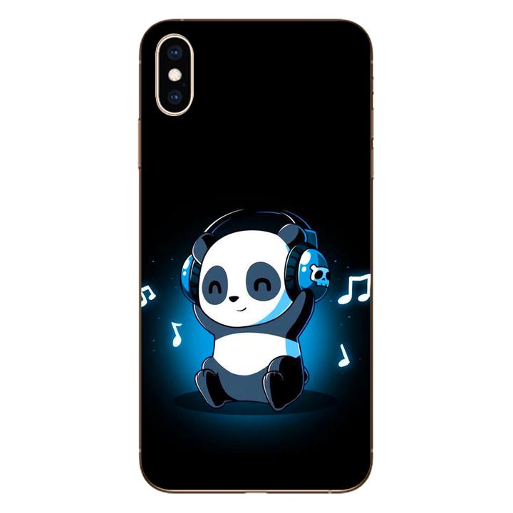Ốp lưng dẻo cho điện thoại Iphone XS Max_Panda 05