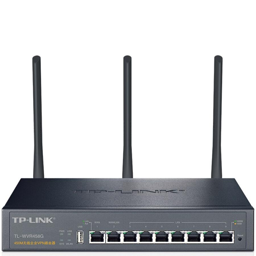 Bộ Định Tuyến Không Dây VPN TP-LINK TL-WVR458G 450M - 1474429 , 3562793564833 , 62_10429133 , 3039000 , Bo-Dinh-Tuyen-Khong-Day-VPN-TP-LINK-TL-WVR458G-450M-62_10429133 , tiki.vn , Bộ Định Tuyến Không Dây VPN TP-LINK TL-WVR458G 450M
