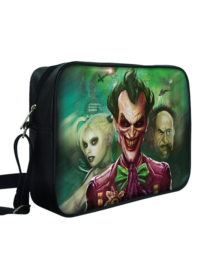 Túi Đeo Chéo Hộp Unisex In Hình Joker Digital - TCFF319