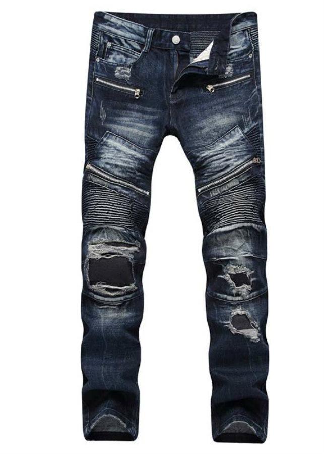 Quần jeans ống côn dây kéo Mã: ND1410