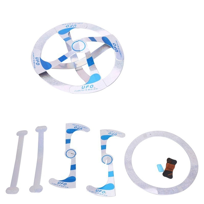 Mystery UFO Floating Flying Disk Magic Trick Creative Saucer Adult/Children Toy