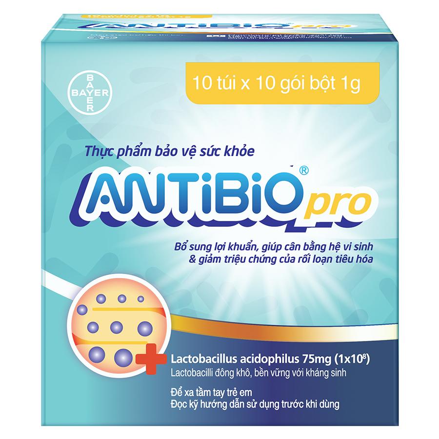 Thực Phẩm Bảo Vệ Sức Khoẻ Bổ Sung Lợi Khuẩn Antibio Pro 100 Gói (10 Túi x 10 Gói Bột 1G) - 9495654 , 4231809586952 , 62_19297922 , 584000 , Thuc-Pham-Bao-Ve-Suc-Khoe-Bo-Sung-Loi-Khuan-Antibio-Pro-100-Goi-10-Tui-x-10-Goi-Bot-1G-62_19297922 , tiki.vn , Thực Phẩm Bảo Vệ Sức Khoẻ Bổ Sung Lợi Khuẩn Antibio Pro 100 Gói (10 Túi x 10 Gói Bột 1G)