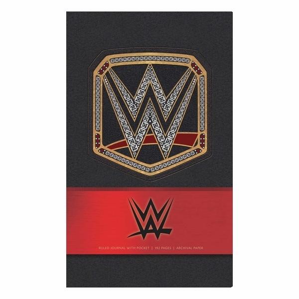 WWE Hardcover Ruled Journal