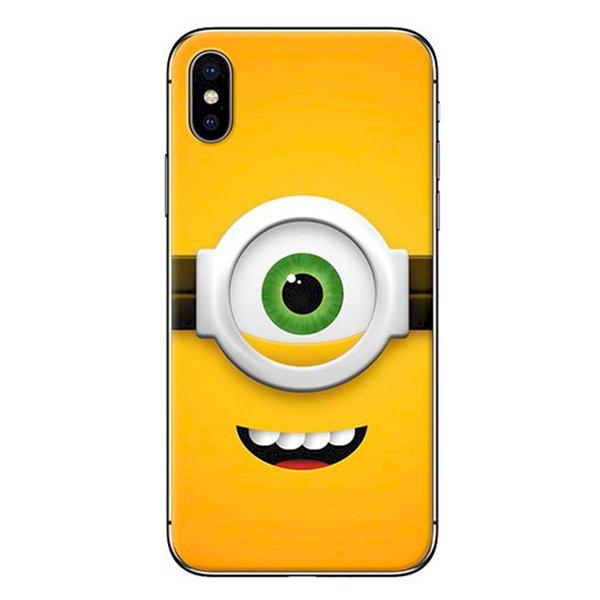 Ốp Lưng Dành Cho iPhone X - Mẫu  Minion 1 Mắt