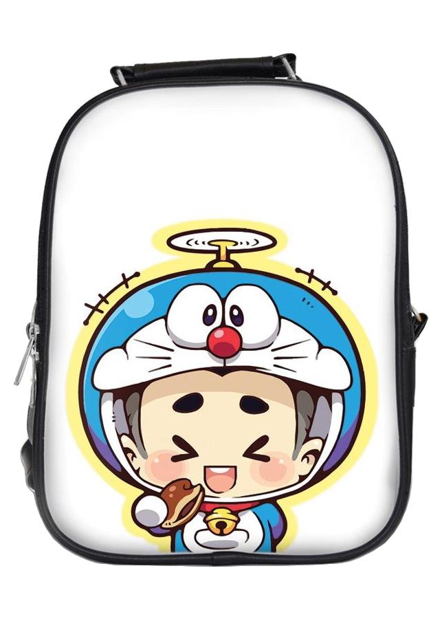 Balo In Hình Cậu Bé Doraemon Ăn Bánh BLCP072