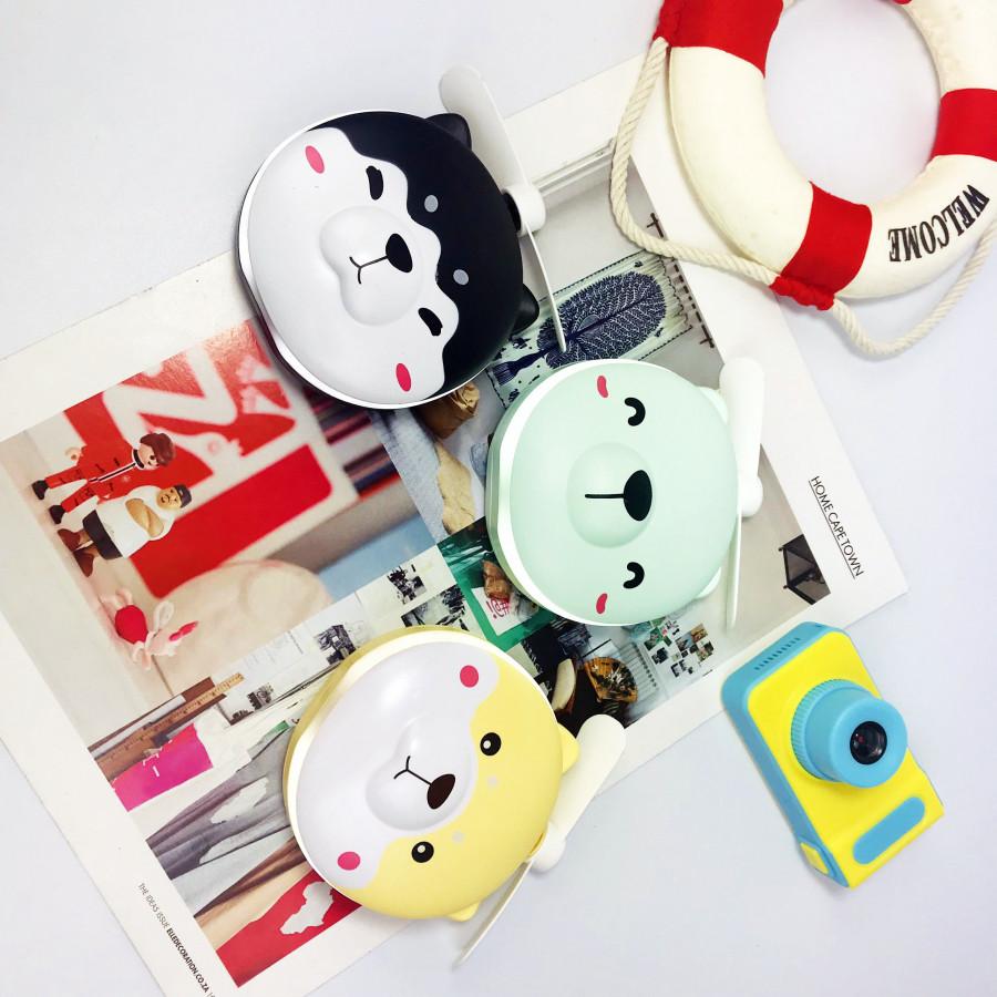 Quạt mini kèm gương và đèn Led hình dễ thương - 9568702 , 3723153467892 , 62_16376051 , 143000 , Quat-mini-kem-guong-va-den-Led-hinh-de-thuong-62_16376051 , tiki.vn , Quạt mini kèm gương và đèn Led hình dễ thương