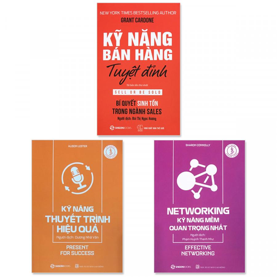 Combo 3 cuốn: Kỹ Năng Bán Hàng Tuyệt Đỉnh, Kỹ Năng Thuyết Trình Hiệu Quả, Kỹ Năng Mềm Quan Trọng Nhất - 1582570 , 4713922708768 , 62_10415502 , 297000 , Combo-3-cuon-Ky-Nang-Ban-Hang-Tuyet-Dinh-Ky-Nang-Thuyet-Trinh-Hieu-Qua-Ky-Nang-Mem-Quan-Trong-Nhat-62_10415502 , tiki.vn , Combo 3 cuốn: Kỹ Năng Bán Hàng Tuyệt Đỉnh, Kỹ Năng Thuyết Trình Hiệu Quả, Kỹ N