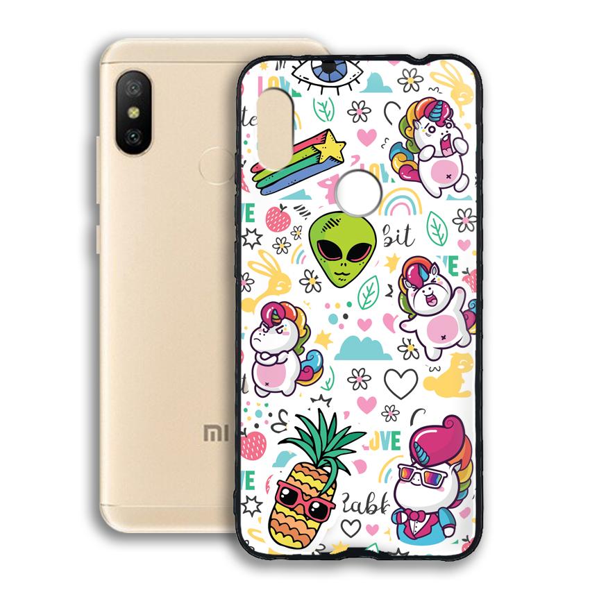 Ốp lưng viền TPU cho điện thoại Xiaomi Redmi Note 6 pro - 02082 0525 LOL03 - Hàng Chính Hãng