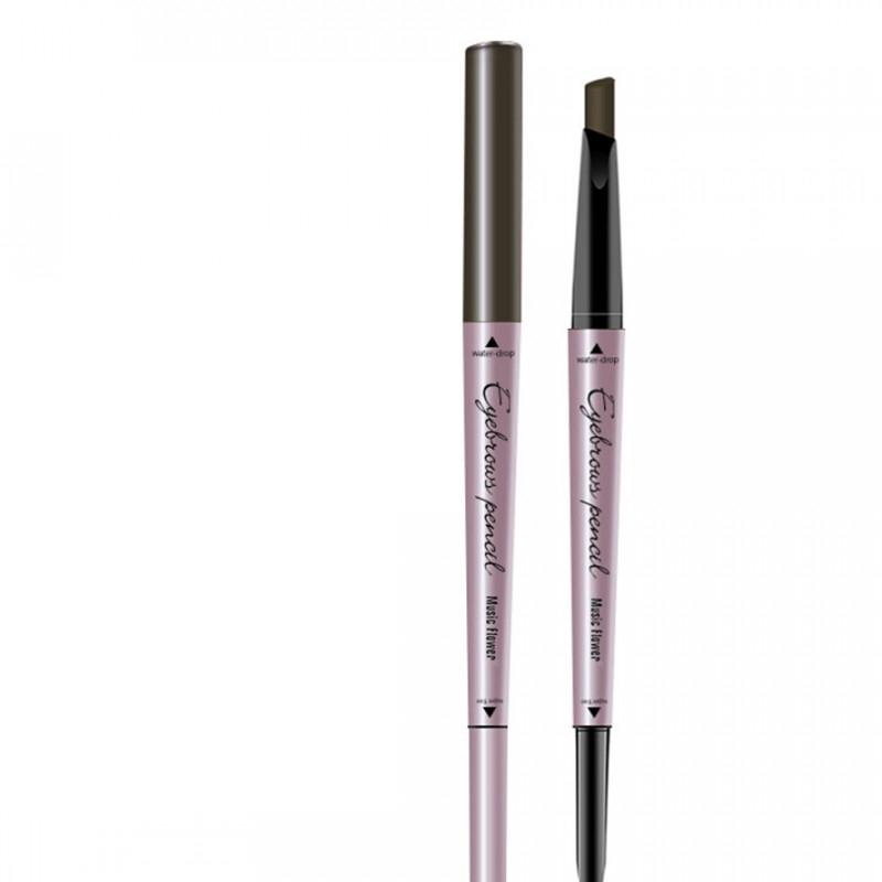 Dual Ended Eyebrow Pencil Tint Natural Long Lasting 2-In-1 Eye Brow Pen Makeup