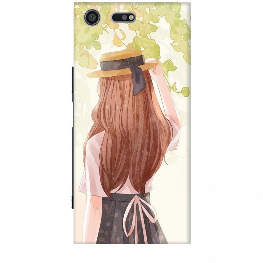 Ốp lưng dành cho điện thoại SONY XZ PREMIUM Phía Sau Một Cô Gái