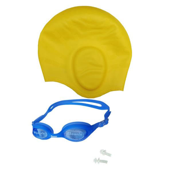 Combo nón bơi mũ bơi che tai CQ + Kính bơi Phonex 207 kèm bịt tai (Giao màu ngẫu nhiên) - 20104802 , 6851233276908 , 62_21108741 , 250000 , Combo-non-boi-mu-boi-che-tai-CQ-Kinh-boi-Phonex-207-kem-bit-tai-Giao-mau-ngau-nhien-62_21108741 , tiki.vn , Combo nón bơi mũ bơi che tai CQ + Kính bơi Phonex 207 kèm bịt tai (Giao màu ngẫu nhiên)