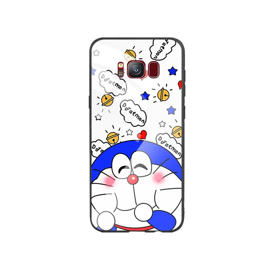 Ốp Lưng Kính Cường Lực cho điện thoại Samsung Galaxy S8 - Doremon 03