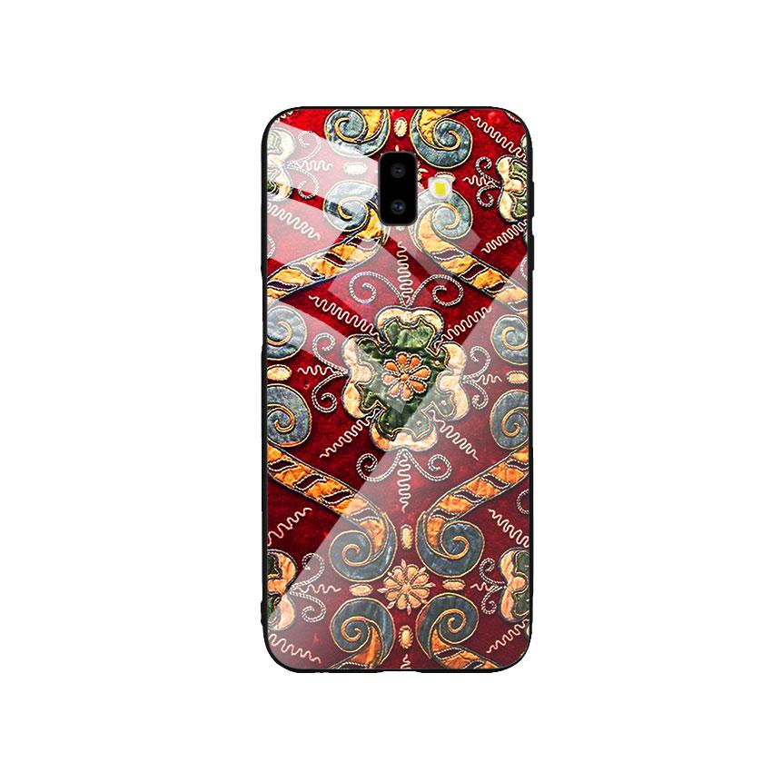 Ốp Lưng Kính Cường Lực cho điện thoại Samsung Galaxy J6 Plus - DHCL Mẫu 4