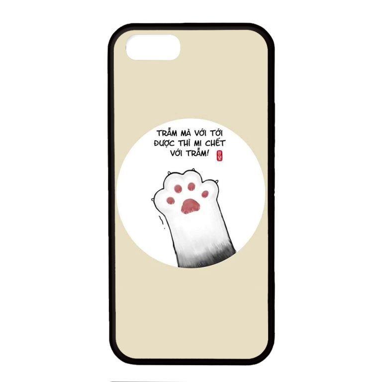 Ốp lưng dành cho điện thoại Iphone 5 Chết Với Trẫm