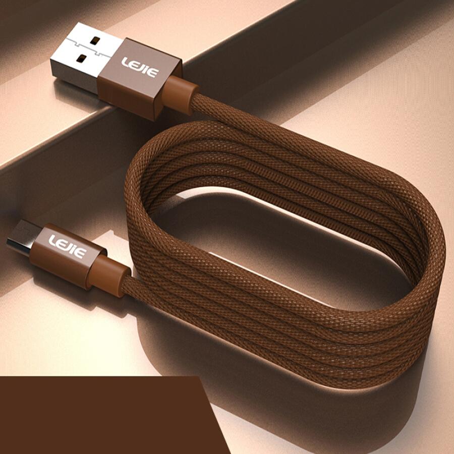 Cáp Sạc/ Dữ Liệu Micro USB LEJIE Dài 2m