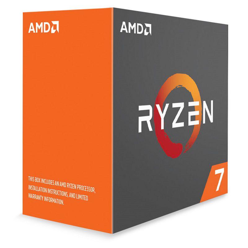Bộ vi xử lý CPU AMD AMD Ryzen 7 1800X Processor - Hàng Chính Hãng