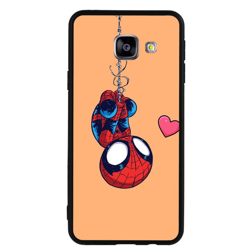 Ốp Lưng Viền TPU cho điện thoại Samsung Galaxy A3 2016 - Spiderman 02