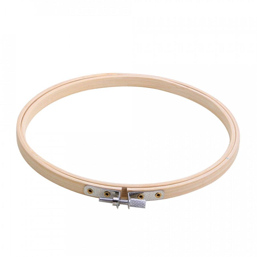 Round Frame Circle Tent Ring Useful 20CM Light Yellow Manual DIY