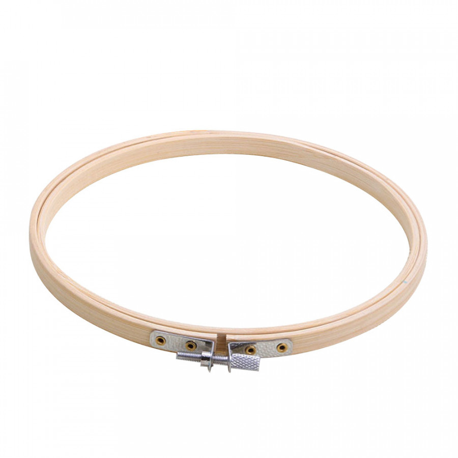 Embroidery Hoop Round Frame Practical 34CM Bamboo Alloy Home Supplies Cross Stitch