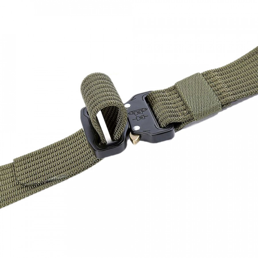 Waist Straps Training Belt Practicality Water Ripple Style Zinc Alloy Buckle Outdoor Military Equipment