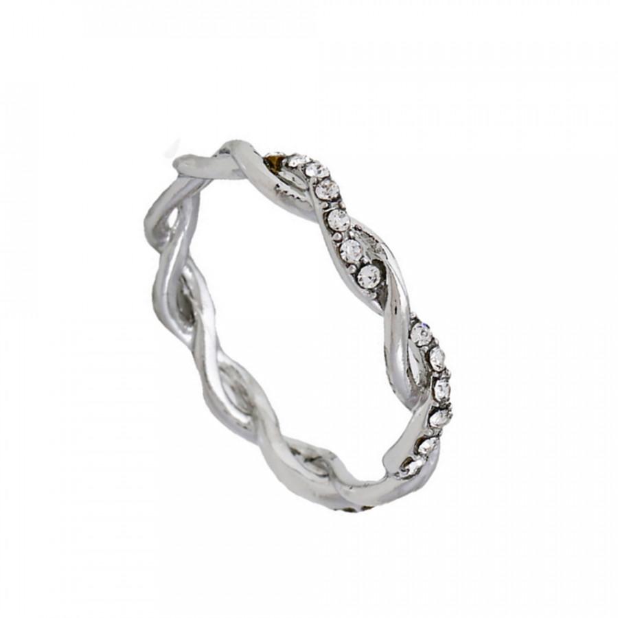Women Exquisite Twist Ring Classical Alloy Bride Twisting Ring Attractive Full Diamond Finger Ring For Woman Girl Gift - 2236163 , 3963824643891 , 62_14356992 , 157000 , Women-Exquisite-Twist-Ring-Classical-Alloy-Bride-Twisting-Ring-Attractive-Full-Diamond-Finger-Ring-For-Woman-Girl-Gift-62_14356992 , tiki.vn , Women Exquisite Twist Ring Classical Alloy Bride Twisting