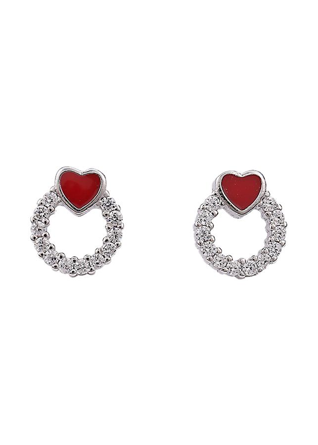 Bông tai nữ bạc pha lê Red Heart Little - 951720 , 5065953702277 , 62_2143321 , 146000 , Bong-tai-nu-bac-pha-le-Red-Heart-Little-62_2143321 , tiki.vn , Bông tai nữ bạc pha lê Red Heart Little