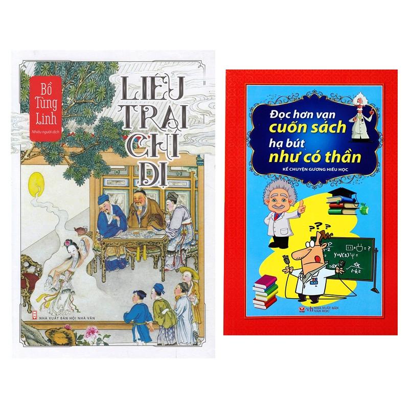 Combo Liêu Trai Chí Dị + Đọc Hơn Vạn Cuốn Sách Hạ Bút Như Có Thần