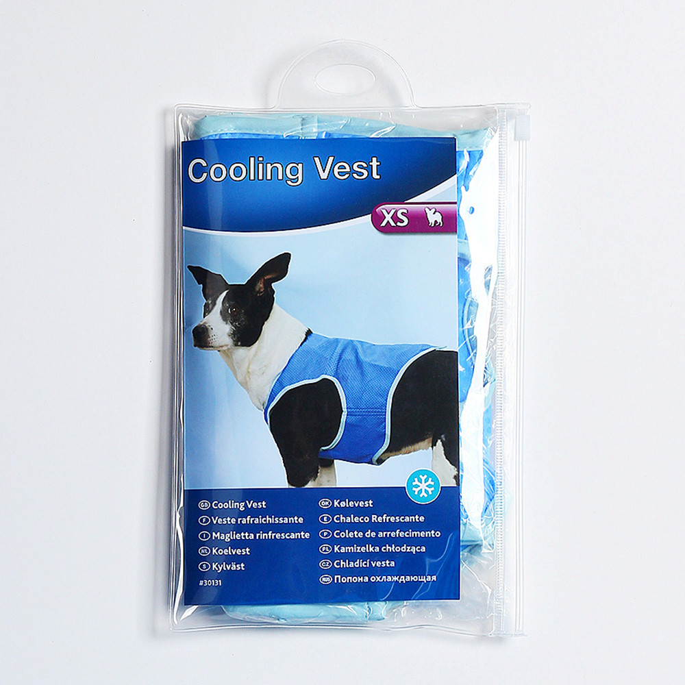 Dog Cooling Vest Cool PVA Jacket Dog Cooling Harness Outdoor Indoor Summer Clothing L for Large Dogs Puppy