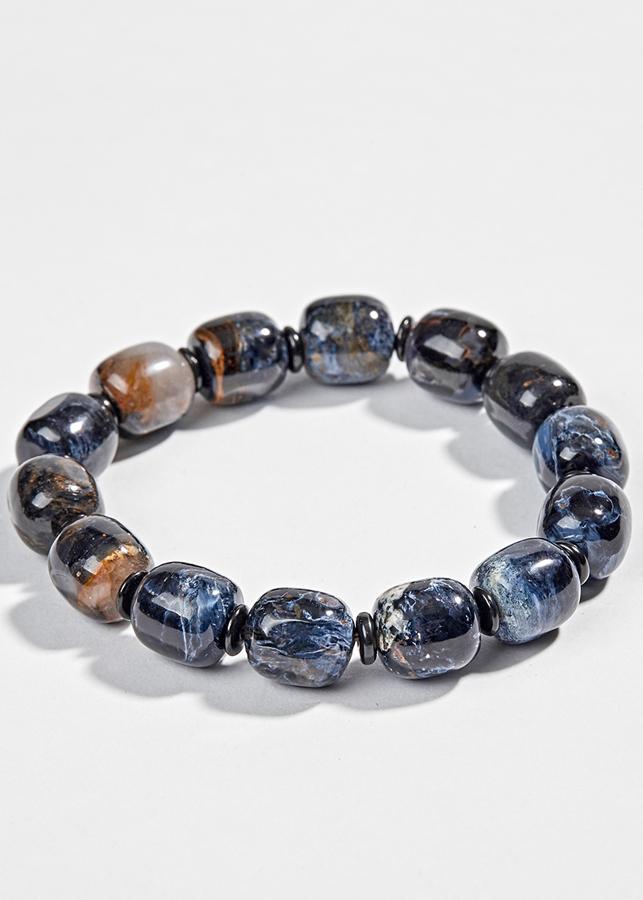 Vòng Đá Giông Bão Xanh Đen Ngọc Quý Gemstones