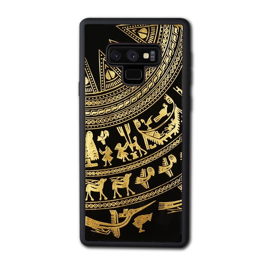 Ốp Lưng Điện Thoại Sơn Mài Trống Đồng Đông Sơn Dành Cho Samsung Galaxy Note 9 La Sonmai