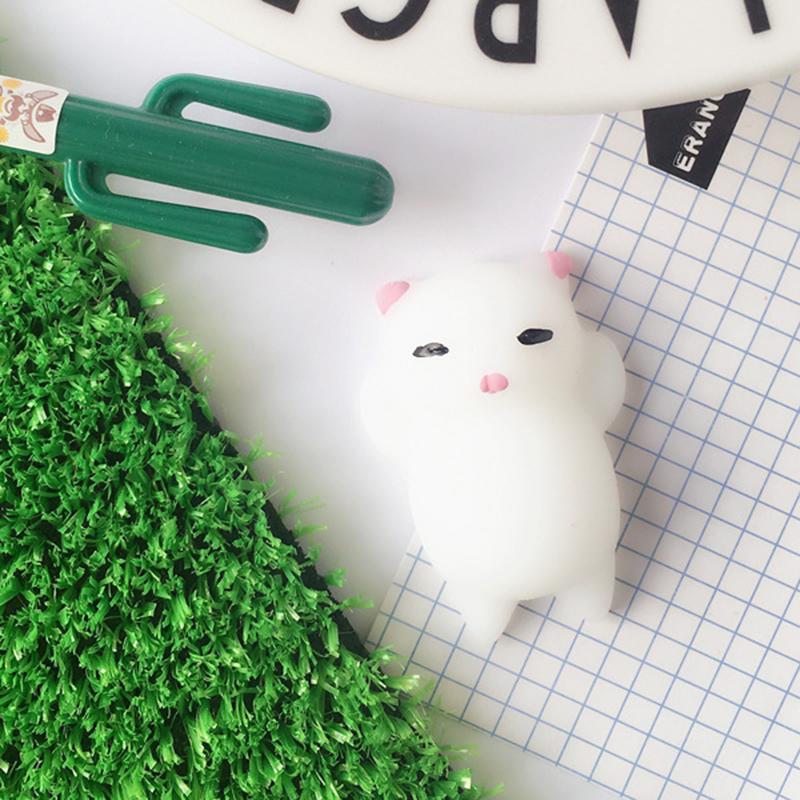 Cute Mochi Squishy Cat Squeeze Healing Fun Kids Kawaii Toy Stress Reliever Decor - Pink Ear Cat - 15804491 , 9986795643862 , 62_31179883 , 213000 , Cute-Mochi-Squishy-Cat-Squeeze-Healing-Fun-Kids-Kawaii-Toy-Stress-Reliever-Decor-Pink-Ear-Cat-62_31179883 , tiki.vn , Cute Mochi Squishy Cat Squeeze Healing Fun Kids Kawaii Toy Stress Reliever Decor -