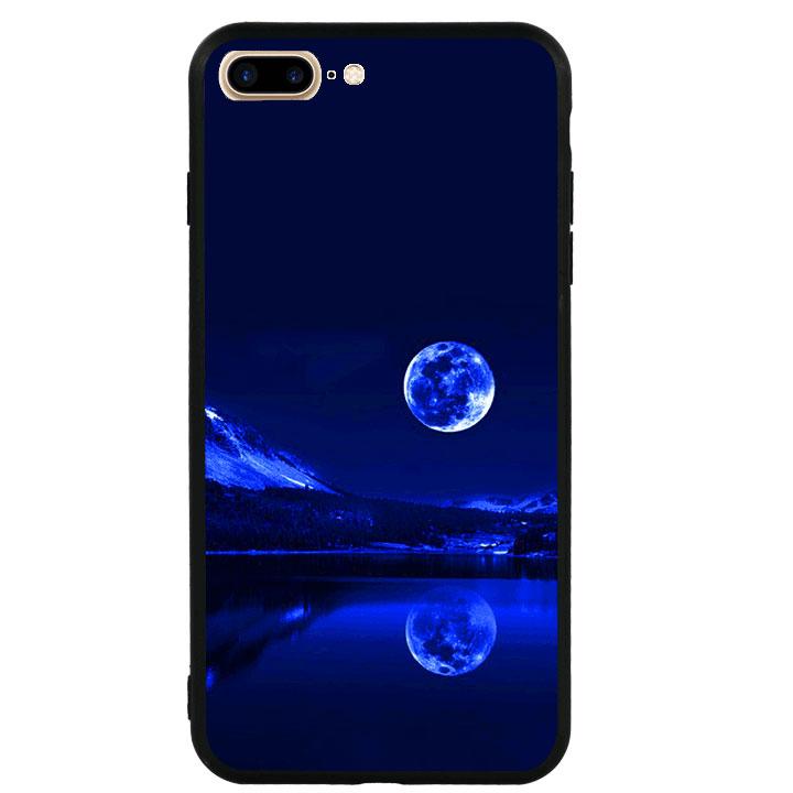 Ốp lưng viền TPU cao cấp cho Iphone 7 Plus - Moon 02