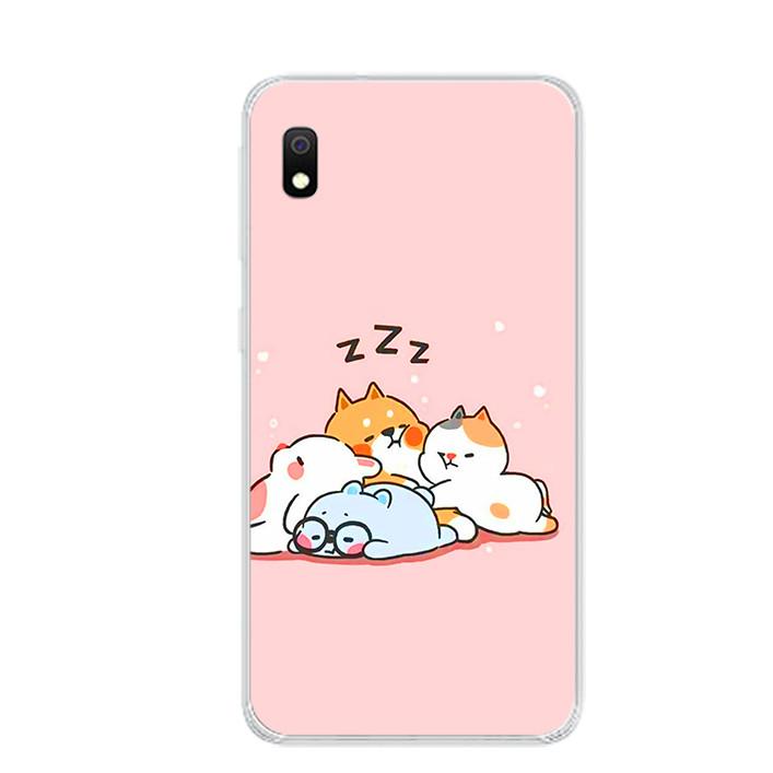 Ốp lưng dẻo cho điện thoại Samsung Galaxy A10 - 0047 SLEEP - Hàng Chính Hãng