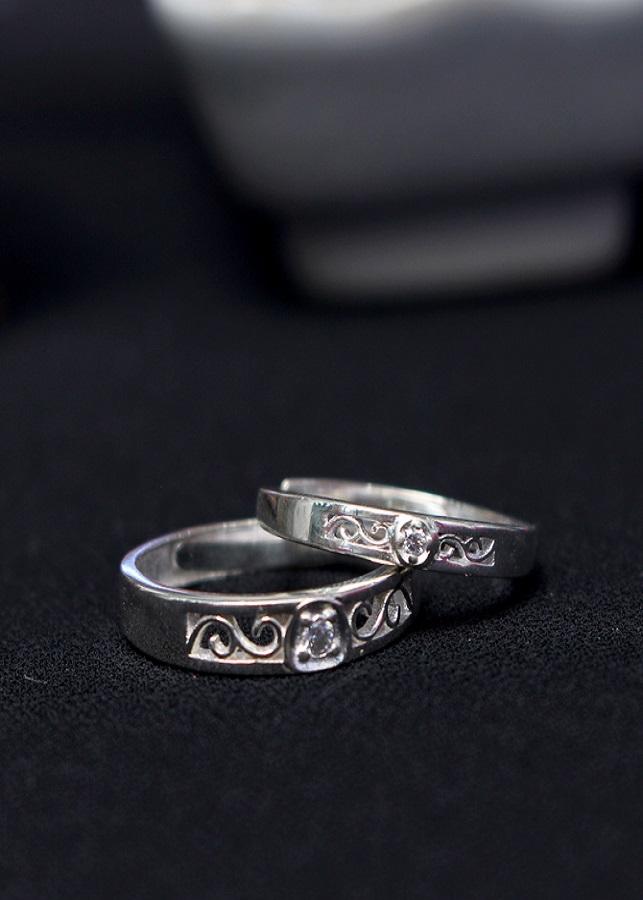 Nhẫn đôi Glosbe 5 xi bạch kim cỡ lớn - 2043412 , 6660867679197 , 62_12050507 , 1120000 , Nhan-doi-Glosbe-5-xi-bach-kim-co-lon-62_12050507 , tiki.vn , Nhẫn đôi Glosbe 5 xi bạch kim cỡ lớn