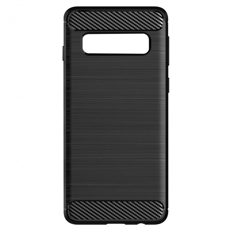 Slim Protective Case TPU S10 Case Anti-Fall Soft Black Outdoor Travel for Samsung Galaxy S10