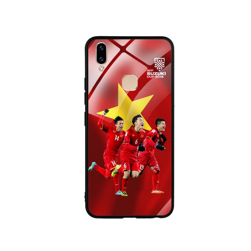 Ốp Lưng Kính Cường Lực cho điện thoại Vivo V9 - AFF Cup 01