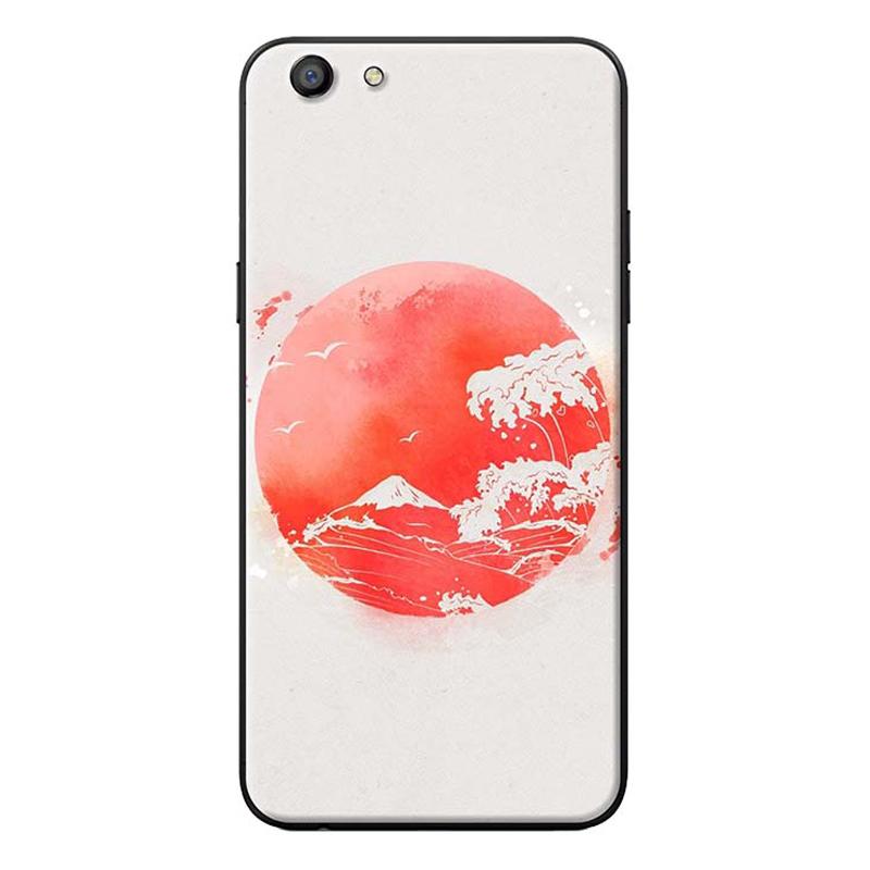 Ốp Lưng Dành Cho Điện Thoại Oppo Neo 9S Mặt Trăng Đỏ