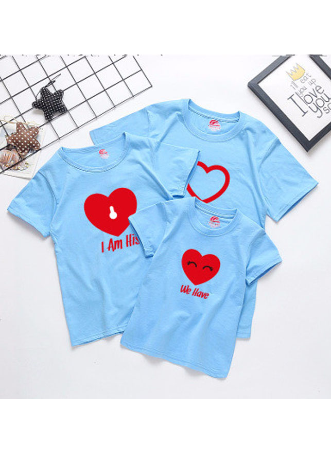 Áo thun gia đình trái tim màu xanh dương - 15931465 , 9996495693500 , 62_20391329 , 400000 , Ao-thun-gia-dinh-trai-tim-mau-xanh-duong-62_20391329 , tiki.vn , Áo thun gia đình trái tim màu xanh dương