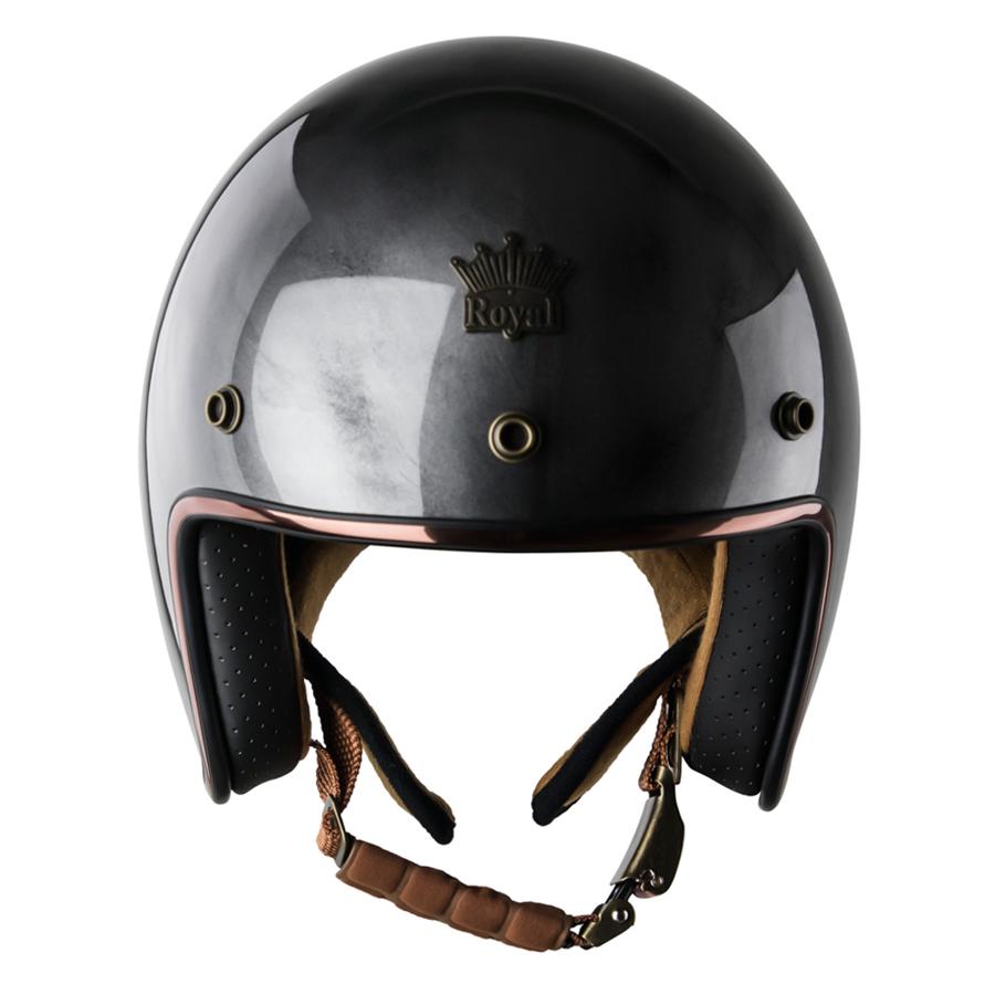 Mũ Bảo Hiểm 3/4 Đầu Royal M20C Ruby Tem