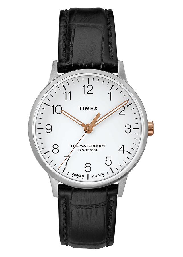 Đồng Hồ Dây Da Nữ Timex Waterbury Classic 36mm - TW2R72400