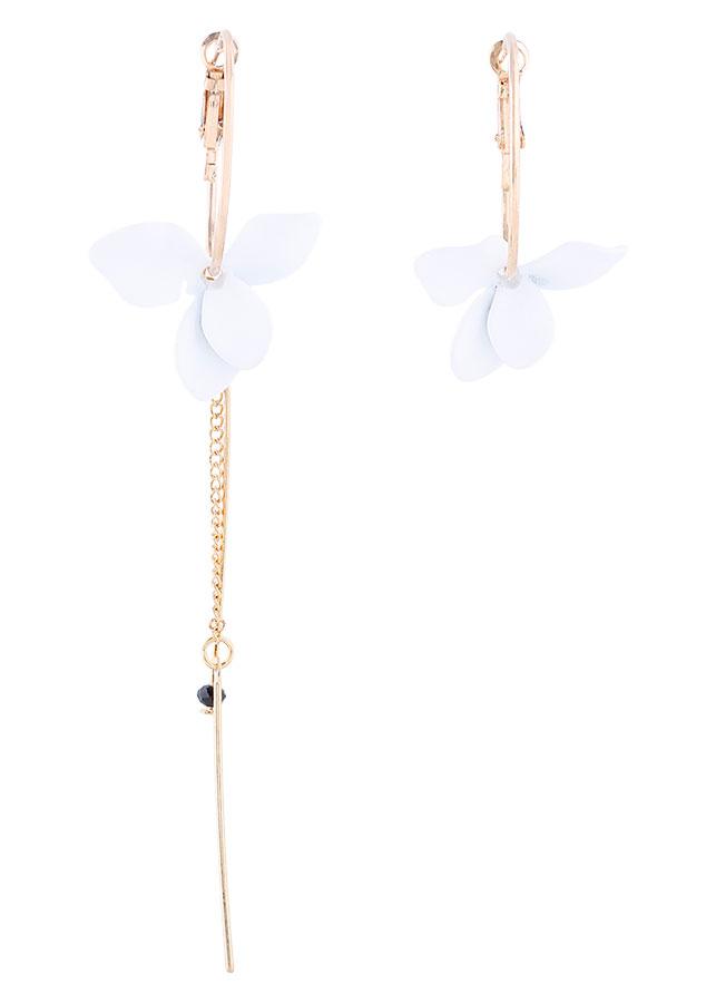 Bông Tai BĐX White Floral Tatiana BH2950 - Trắng