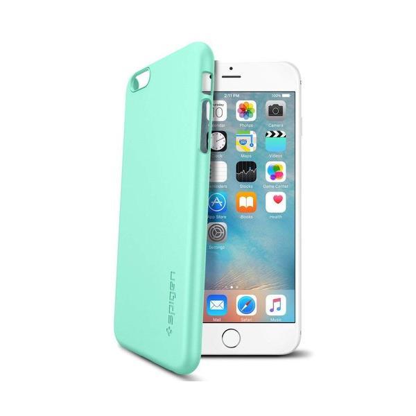 Ốp lưng cho iPhone 6S Plus Spigen Thin Fit (Xanh bạc hà)