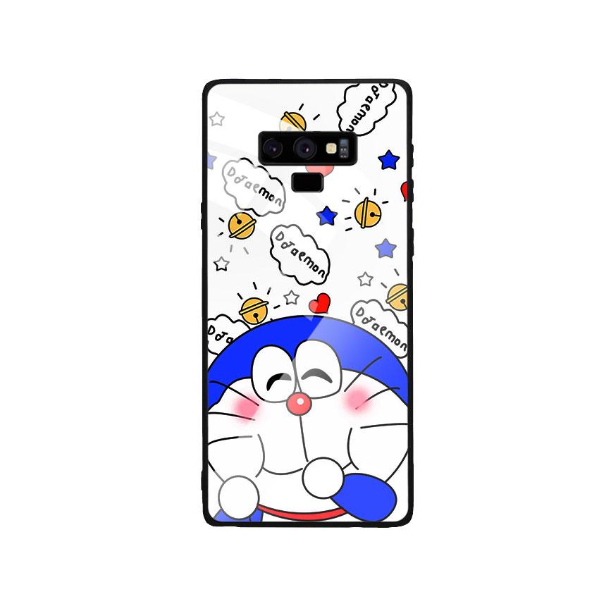 Ốp Lưng Kính Cường Lực cho điện thoại Samsung Galaxy Note 9 - Doremon 03