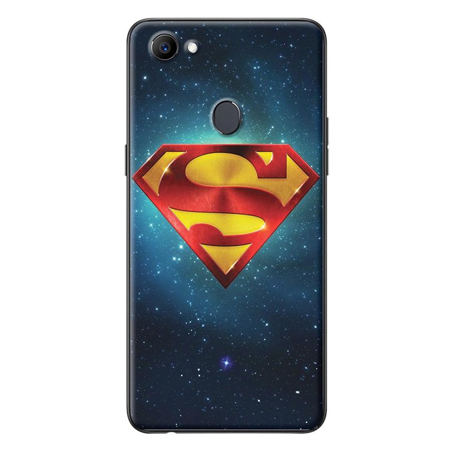 Ốp Lưng Dành Cho Oppo F7 - Logo Superman Galaxy