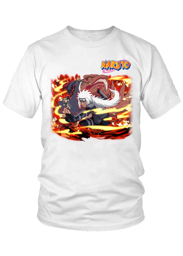 Áo thun nam Naruto Jiraiya tphcm M8