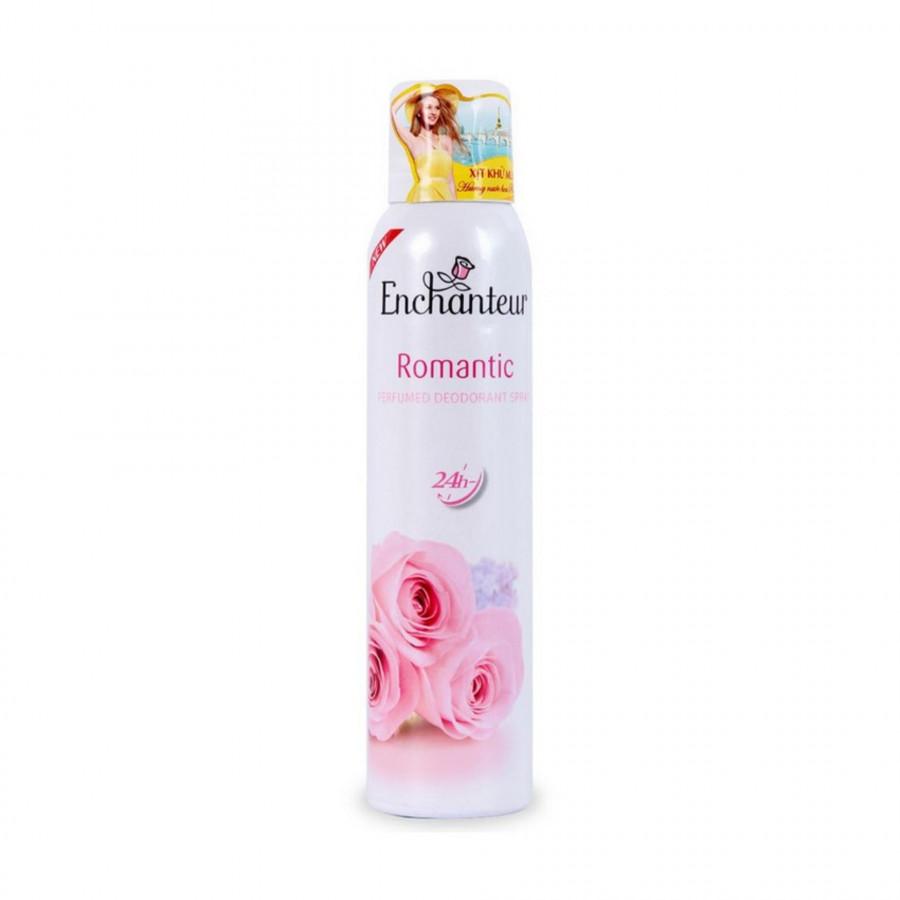 Xịt khử mùi nước hoa Enchanteur Romantic lãng mạn nhẹ nhàng ngăn mồ hôi  mùi cơ thể 150ml - 18481077 , 8687090644530 , 62_15944170 , 92000 , Xit-khu-mui-nuoc-hoa-Enchanteur-Romantic-lang-man-nhe-nhang-ngan-mo-hoi-mui-co-the-150ml-62_15944170 , tiki.vn , Xịt khử mùi nước hoa Enchanteur Romantic lãng mạn nhẹ nhàng ngăn mồ hôi  mùi cơ thể 150m