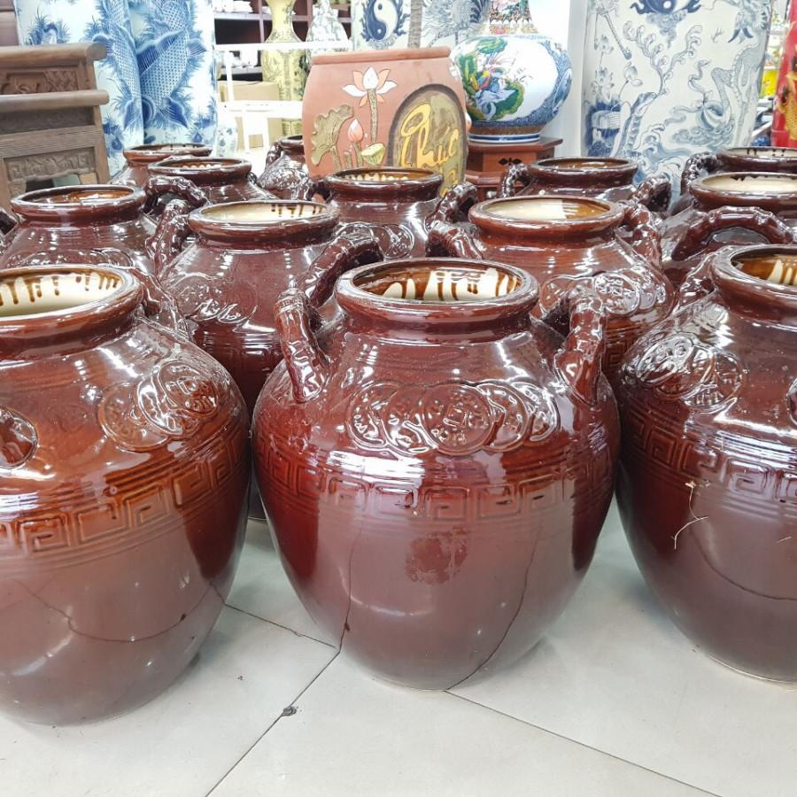 Chum Sành Đựng Rượu - 9700461 , 9340405635102 , 62_15801932 , 1900000 , Chum-Sanh-Dung-Ruou-62_15801932 , tiki.vn , Chum Sành Đựng Rượu