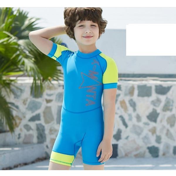 Bộ bơi liền cộc xanh tay vàng cho bé từ 1 đến 6 tuổi - 1216830 , 6342681447786 , 62_7766826 , 450000 , Bo-boi-lien-coc-xanh-tay-vang-cho-be-tu-1-den-6-tuoi-62_7766826 , tiki.vn , Bộ bơi liền cộc xanh tay vàng cho bé từ 1 đến 6 tuổi