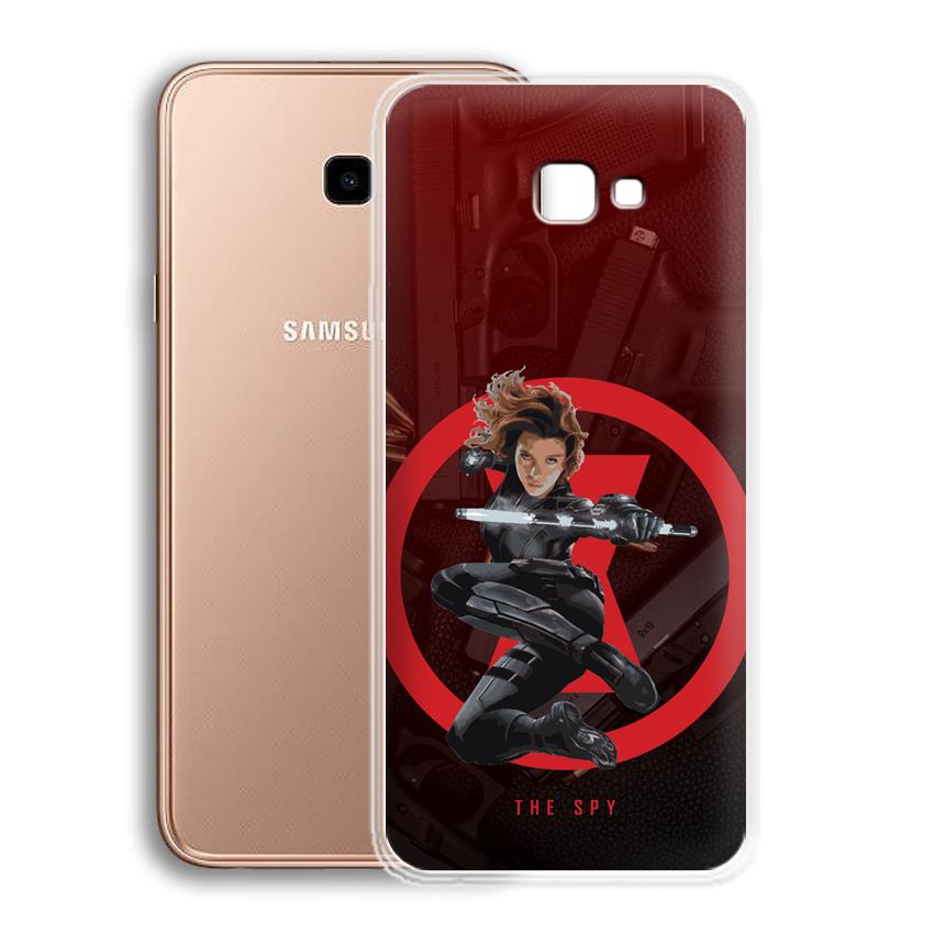 Ốp lưng cho điện thoại Samsung Galaxy J4 plus/ J4 Core - 01045 0538 SPY01 - Silicone dẻo - Hàng Chính Hãng